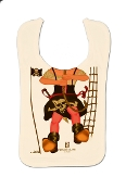 Girl's Pirate Parrot Bib