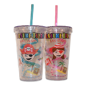 Pirate Cup with Straw