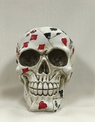 Playing Card Skull